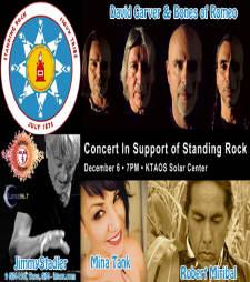"""""""Water is Life!"""" Standing Rock Benefit Concert Featuring Robert Miribal"""