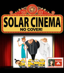 "Solar Cinema featuring ""Despicable Me 3"""