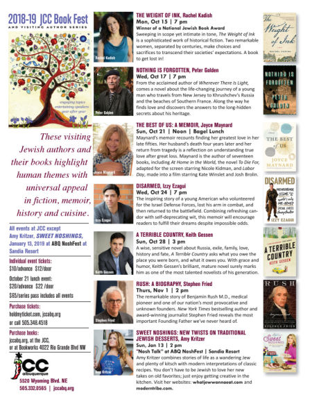 jcc book fest series package - When Christmas Comes To Town Chords
