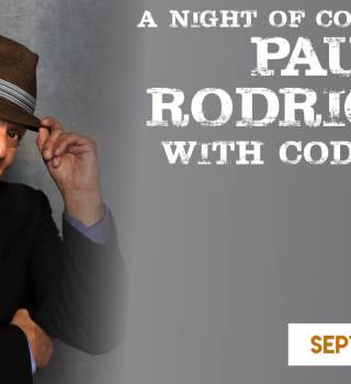 A night of comedy with Paul Rodriguez on the Big Sopaipilla Tour (Friday)