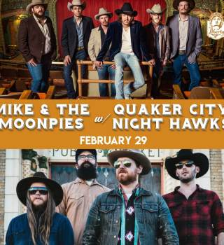 Mike & the Moonpies w/ Quaker City Night Hawks
