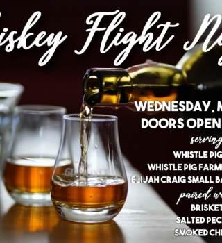 Whiskey Flight Night