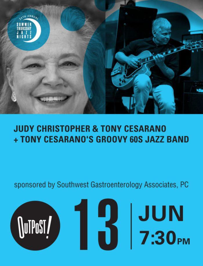 Judy Christopher & Tony Cesarano + Tony Cesarano's Groovy 60s Jazz