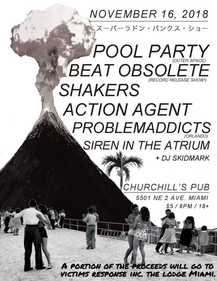 Pool Party, Beat Obsolete, Shakers, Action Agent