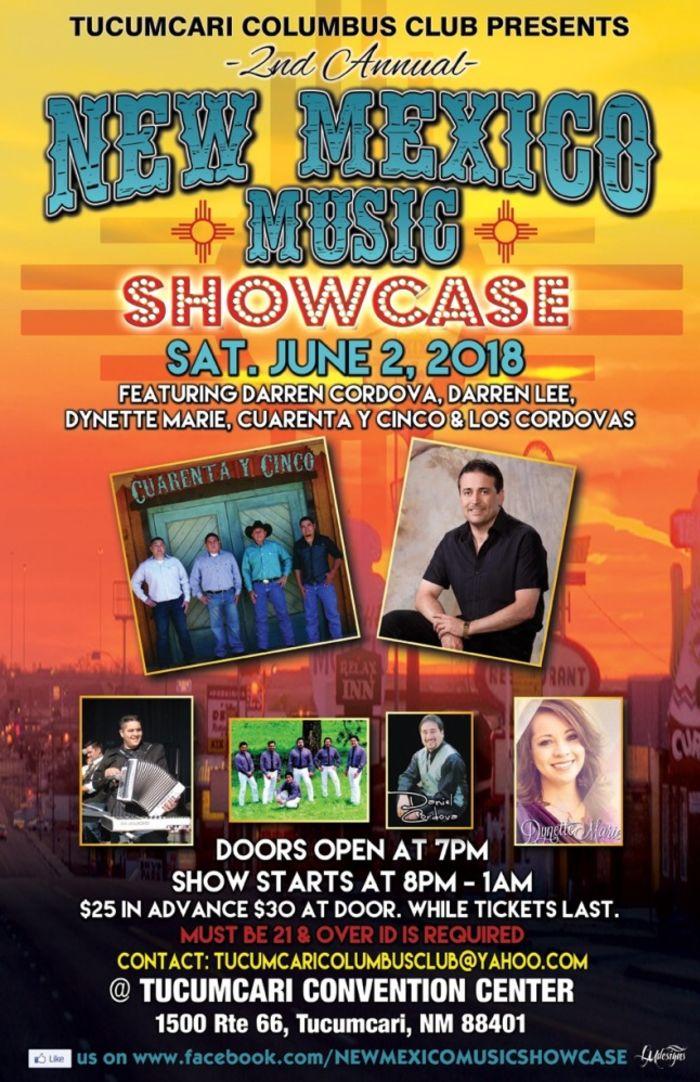 New Mexico Music Showcase Tucumcari @ Tucumcari convention center