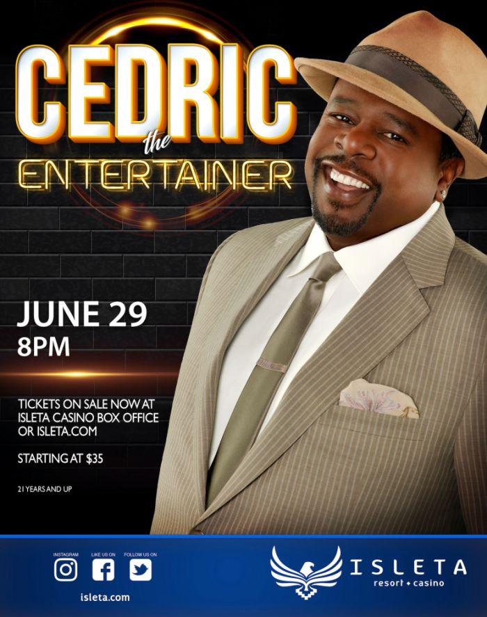 9ba5452a9a70c CEDRIC THE ENTERTAINER Albuquerque   Isleta Resort   Casino - The Showroom  2019-06-29 20 00 00