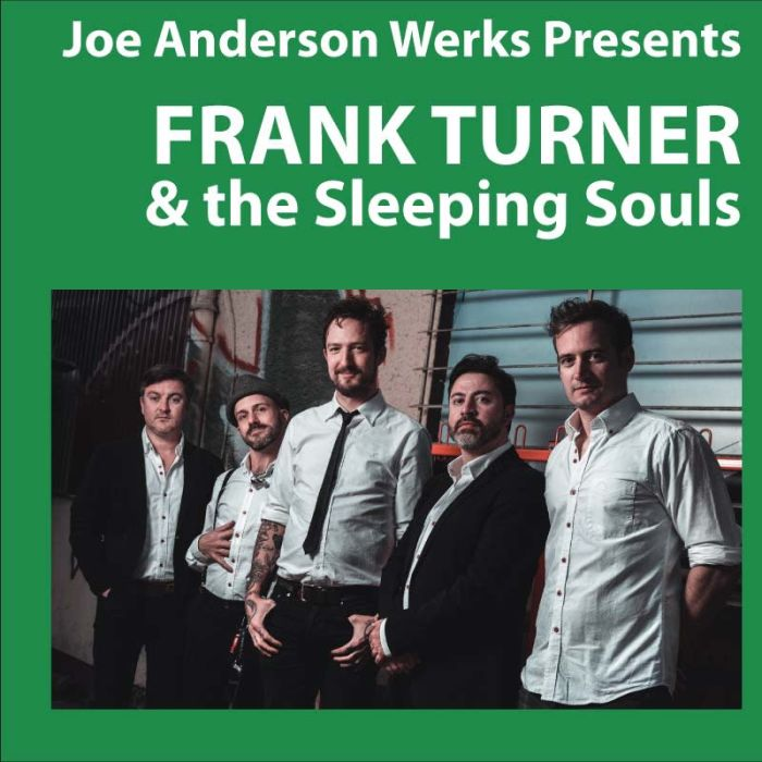 FRANK TURNER & the Sleeping Souls Albuquerque @ KiMo Theatre 2019-10