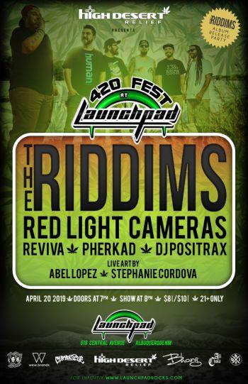 The Riddims * Red Light Cameras * Reviva * Pherkad