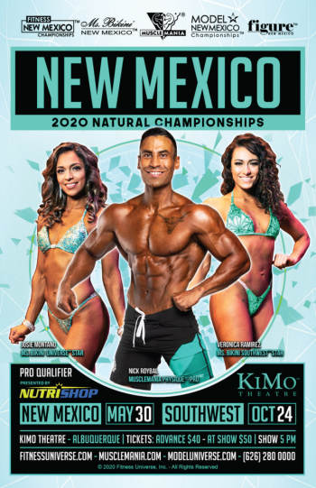 Fitness New Mexico - May 30, 2020, 5:00 pm