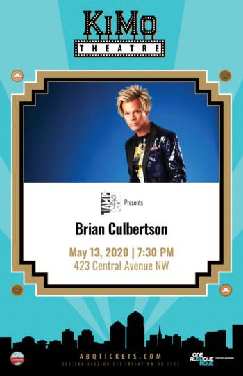 Brian Culbertson - May 13, 2020, 7:30 pm
