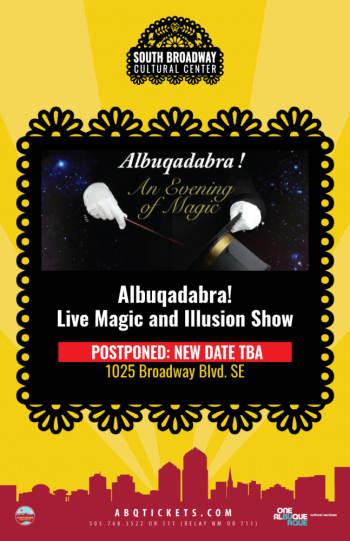 Albuqadabra! Postponed - April 18, 2020, 7:00 pm