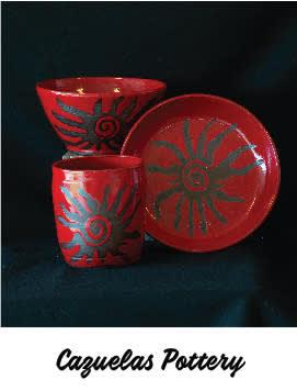 Cazuelas Pottery - December 5, 2020, 11:00 am