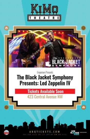 The Black Jacket Symphony Presents:  Event Postponed New Date: 10/20/2021 - October 20, 2021, 8:00 pm