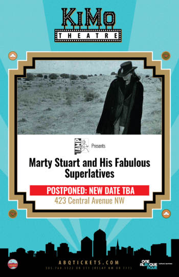 Marty Stuart and His Fabulous Superlatives - Event Postponed (Date - TBA) - April 30, 2020, 7:30 pm