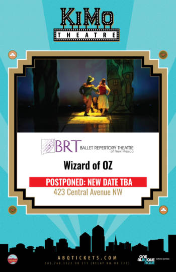 Wizard of Oz - April 5, 2020, 2:00 pm