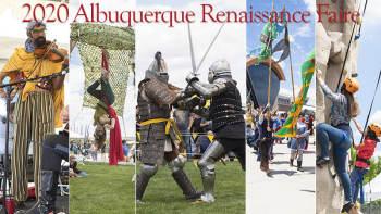 ABQ Renaissance Faire 2020 - April 25, 2020, 10:00 am