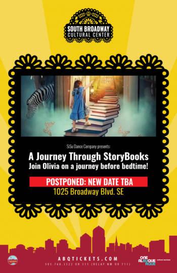A Journey Through StoryBooks- Postponed - April 25, 2020, 5:30 pm