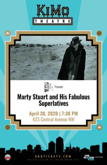 Marty Stuart and His Fabulous Superlatives - April 30, 2020, 7:30 pm