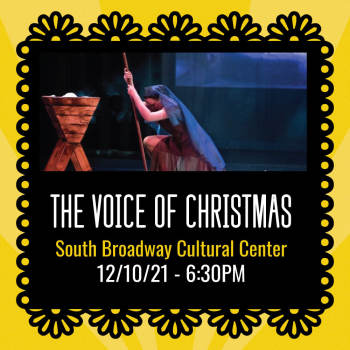 The Voice of Christmas - December 10, 2021, 6:30 pm