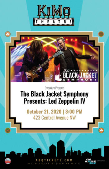 The Black Jacket Symphony Presents: - October 21, 2020, 8:00 pm