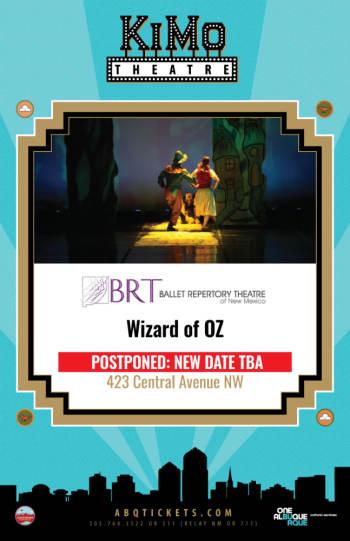 Wizard of Oz - April 4, 2020, 7:00 pm