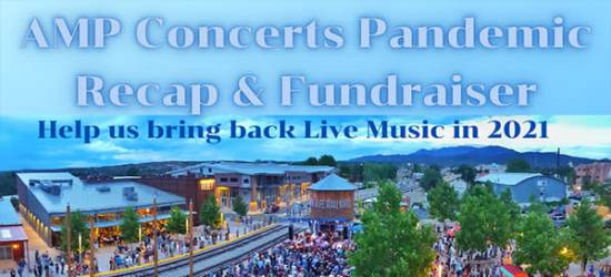 AMP Concerts Pandemic Recap and Fundraiser