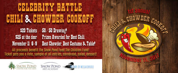 First Annual Chili & Chowder Cook Off