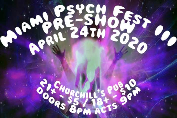 The Perfect Trip: Miami Psych Fest III PRE-SHOW! (18+ only)