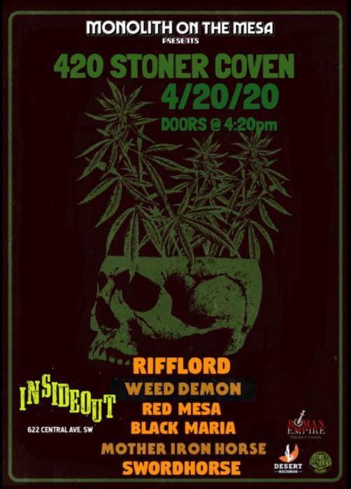 Rifflord * Weed Demon * Red Mesa * Black Maria * Mother Iron Horse * Sword Horse