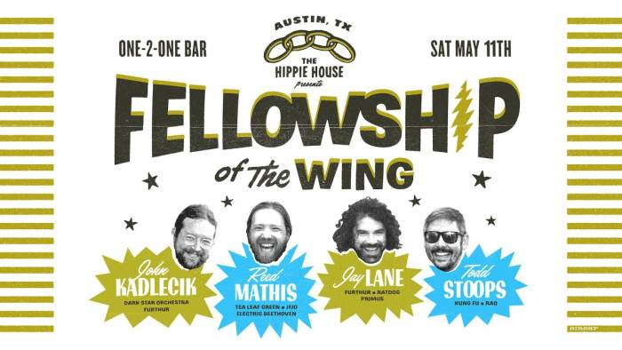John Kadlecik S Fellowship Of The Wing Jay Lane Reed Mathis One 2 One Bar Austin Tx May 11th 2019 5 00 Pm