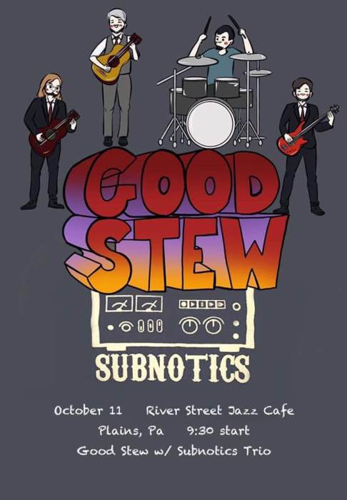 Poster - Live At The River Street Jazz Cafe