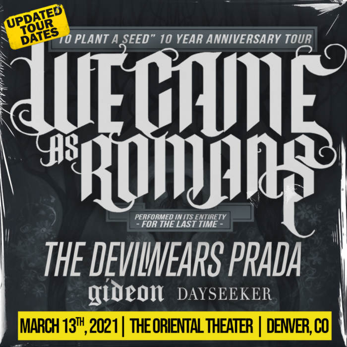 We Came As Romans *NEW DATE!*