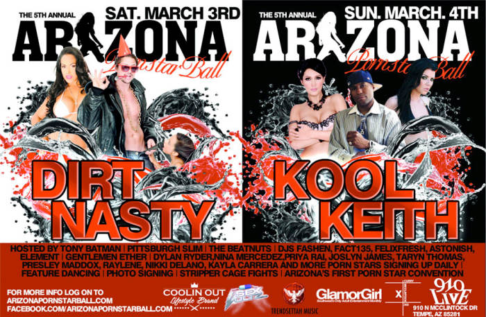 Arizona 5th Annual Porn Star Ball With Kool Keith And Over 20 Pornstars