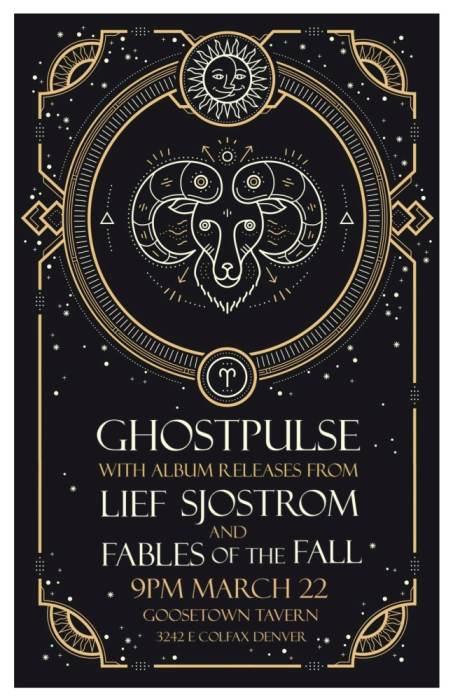 Ghostpulse Lief Sjostrom (EP Release) @ Goosetown Tavern Denver, CO