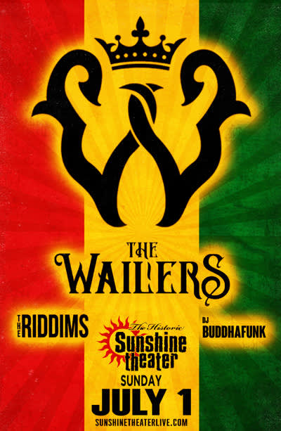 The Wailers * The Riddims * DJ Buddhafunk