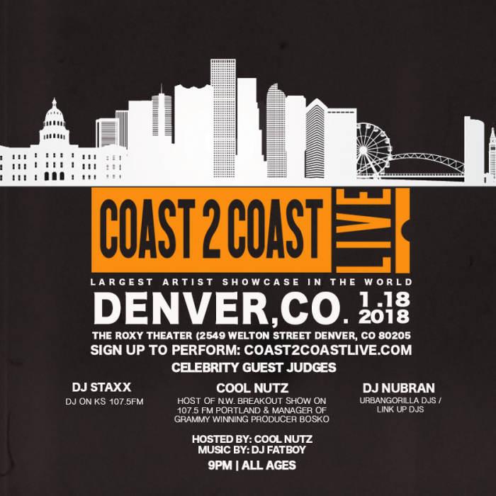 The Roxy Theatre Denver - Coast to Coast Live
