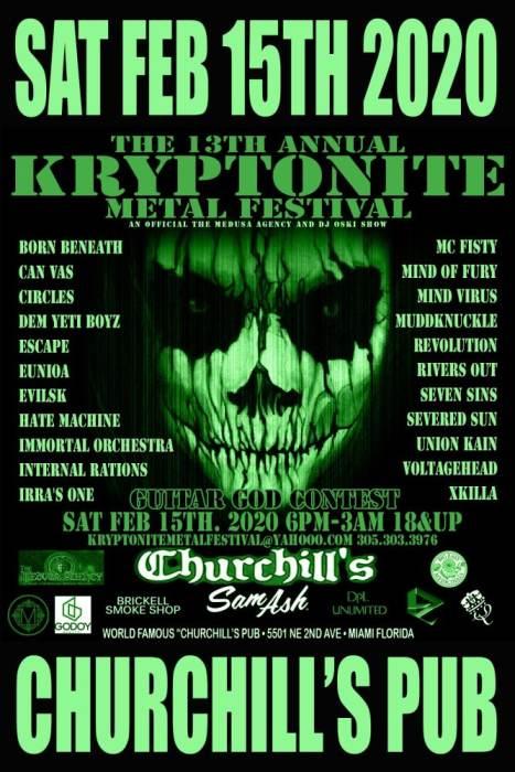 Kryptonite Metal Festival 13