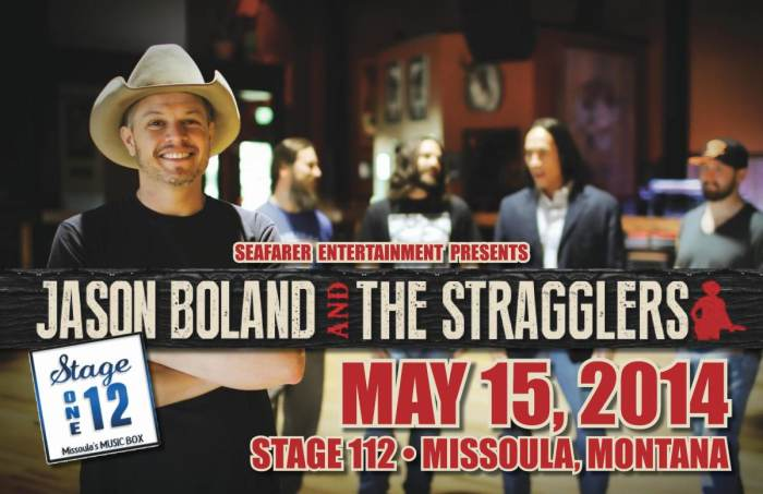 Jason Boland & The Stragglers Missoula @ Stage 112 - May 15th 2014 8 ...