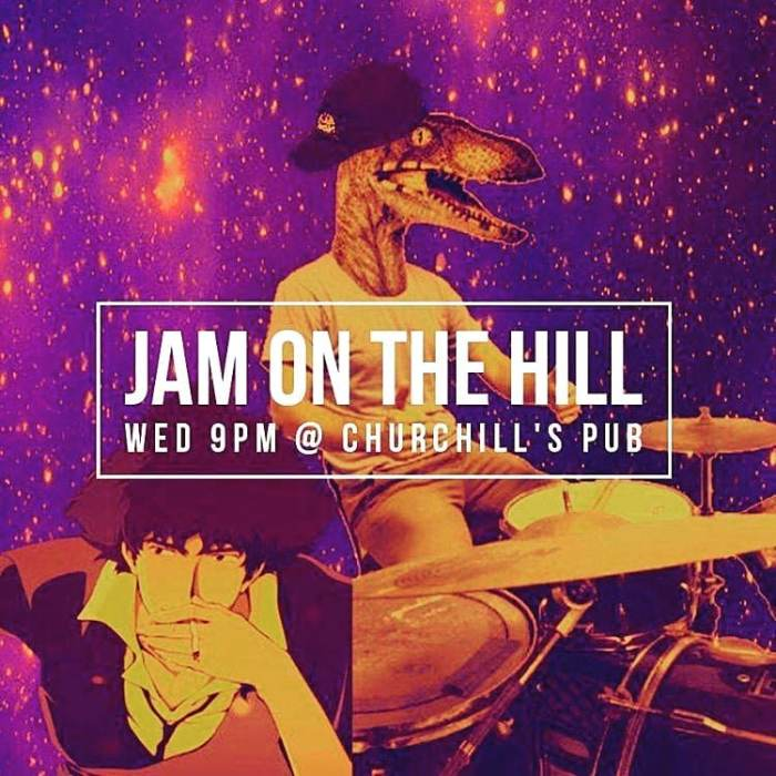 Drop out of Life with Gucci Handelsman & Jam on the hill - Bring your instruments