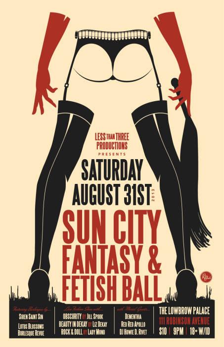Sun city fetish and fantasy ball a night of fashion the for Sun city motors el paso tx