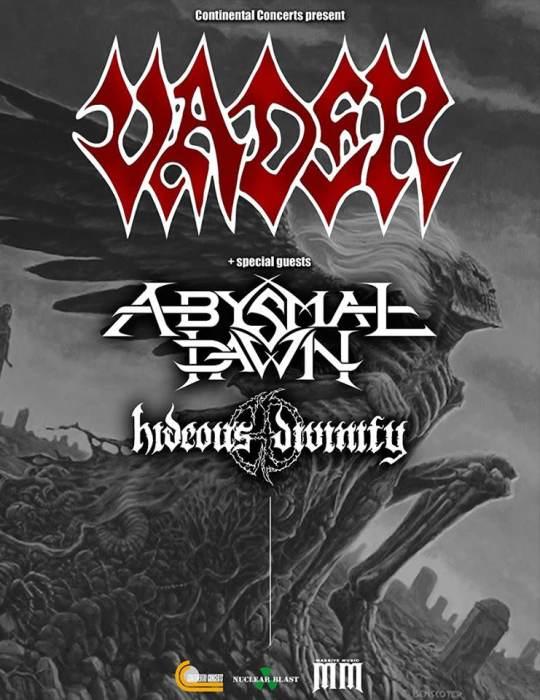 VADER, Abysmal Dawn, Hideous Divinity