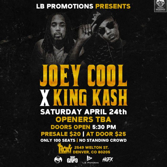 Joey Cool X King Kash