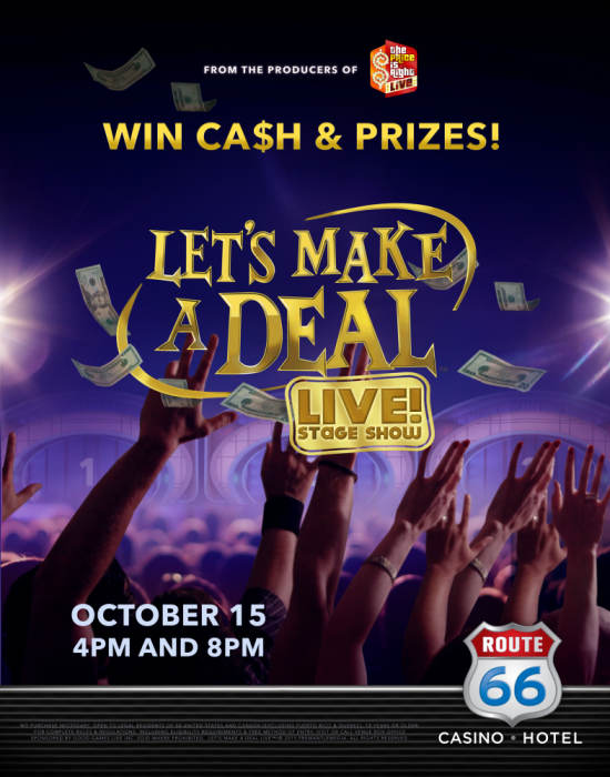 Win prizes on lets make a deal
