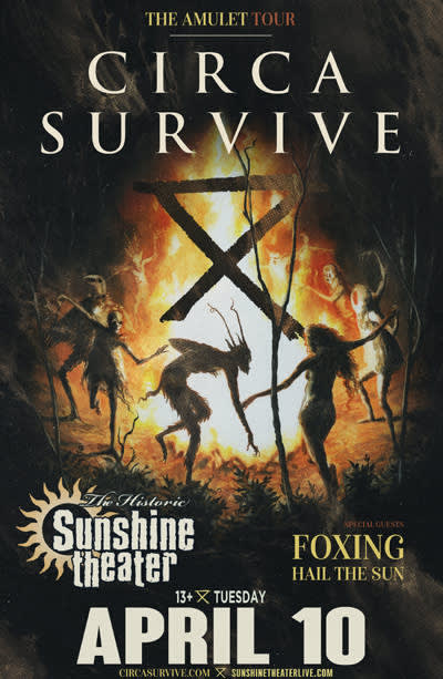 Circa Survive * Foxing * Hail The Sun