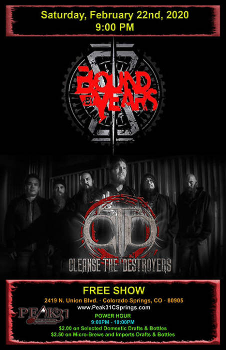 Bound By Years / Cleanse The Destroyers / TBA