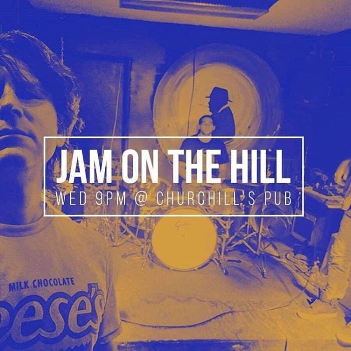 JAM ON THE HILL (Bring your instruments to the green room)