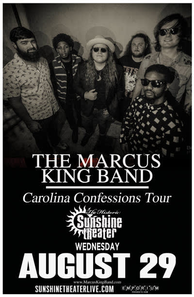The Marcus King Band * Bishop Gunn