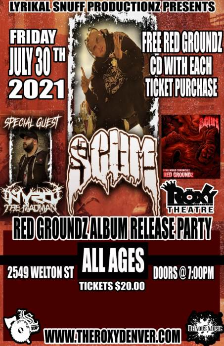 Red Groundz Album Release Party