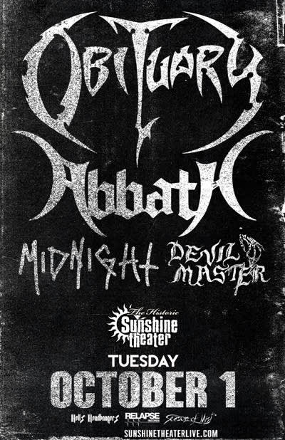 Obituary * Abbath