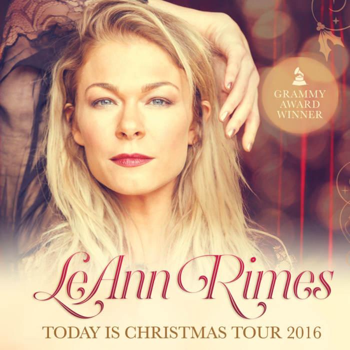 LEANN RIMES TODAY IS CHRISTMAS TOUR 2016 @ Isleta Resort & Casino ...